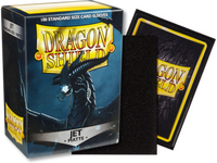 Dragon Shield - Jet 'Bodom' Matte Card Sleeves