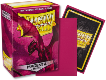 Dragon Shield - Magenta 'Fuchsin' Matte Card Sleeves