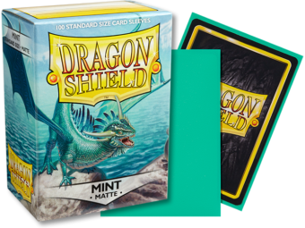 Dragon Shield - Mint 'Bayaga' Matte Card Sleeves