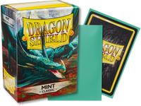 Dragon Shield - Mint 'Cor' Classic Card Sleeves