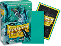 Dragon Shield -  Mint 'Jablucrus' Classic Mini Card Sleeves