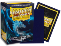 Dragon Shield - Night Blue 'Botan' Matte Card Sleeves