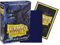 Dragon Shield - Night Blue 'Zugai' Classic Mini Card Sleeves