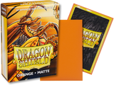 Dragon Shield - Orange 'Kurang' Matte Mini Card Sleeves