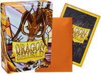 Dragon Shield - Orange 'Tigris' Classic Mini Card Sleeves