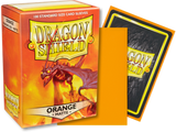 Dragon Shield - Orange 'Usaqin' Matte Card Sleeves