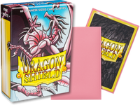 Dragon Shield - Pink 'Mitsanu' Matte Mini Card Sleeves