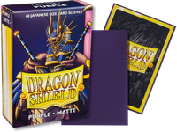 Dragon Shield - Purple 'Fukushu' Matte Mini Card Sleeves