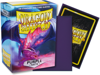 Dragon Shield - Purple 'Miasma' Matte Card Sleeves