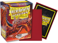 Dragon Shield - Red 'Moltanis' Matte Card Sleeves