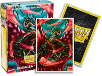 Dragon Shield - 'Rosacea' Classic Art Mini Card Sleeves