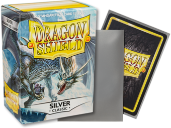 Dragon Shield - Silver 'Mirage' Classic Card Sleeves