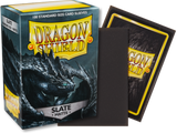 Dragon Shield - Slate 'Escotarox' Matte Card Sleeves