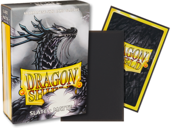 Dragon Shield - Slate 'Lithos' Matte Mini Card Sleeves