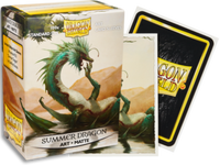 Dragon Shield - 'Summer Dragon' Matte Art Card Sleeves