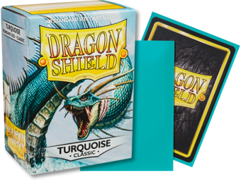 Dragon Shield - Turquoise 'Methestique' Classic Card Sleeves