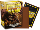 Dragon Shield - Umber 'Teranha' Matte Card Sleeves