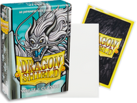 Dragon Shield - White 'Fulgor' Classic Mini Card Sleeves