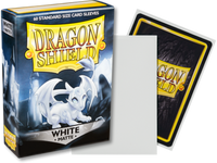 Dragon Shield - White 'Yulinga' Matte Mini Card Sleeves