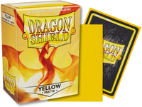 Dragon Shield - Yellow 'Elichaphaz' Matte Card Sleeves