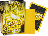 Dragon Shield - Yellow 'SheSha' Matte Mini Card Sleeves
