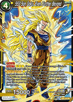 DBSCG-EB1-43 SR SS3 Son Goku, Even Further Beyond