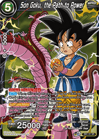 DBSCG-EB1-51 SR Son Goku, the Path to Power