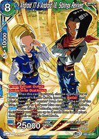 DBSCG-EB1-62 SR Android 17 & Android 18, Siblings Revived