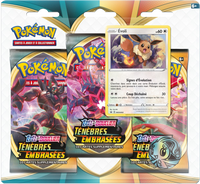 Pokémon TCG: Sword & Shield - Darkness Ablaze 3-Blister Set (Eevee)