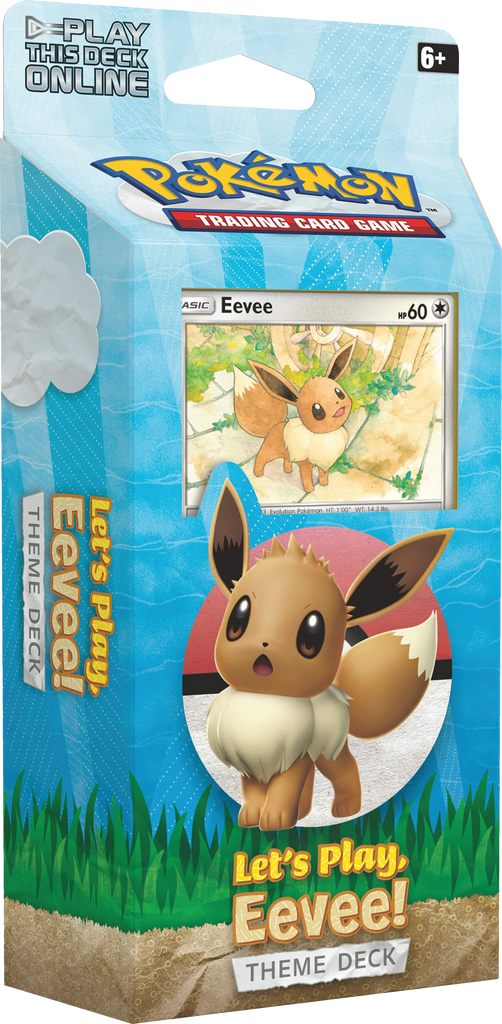 Pokémon TCG: Let's Play! Eevee Theme Deck