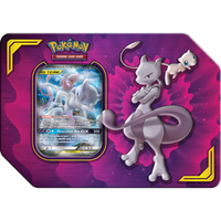 Pokémon TCG: Power Partnership - Mewtwo & Mew-GX Tin