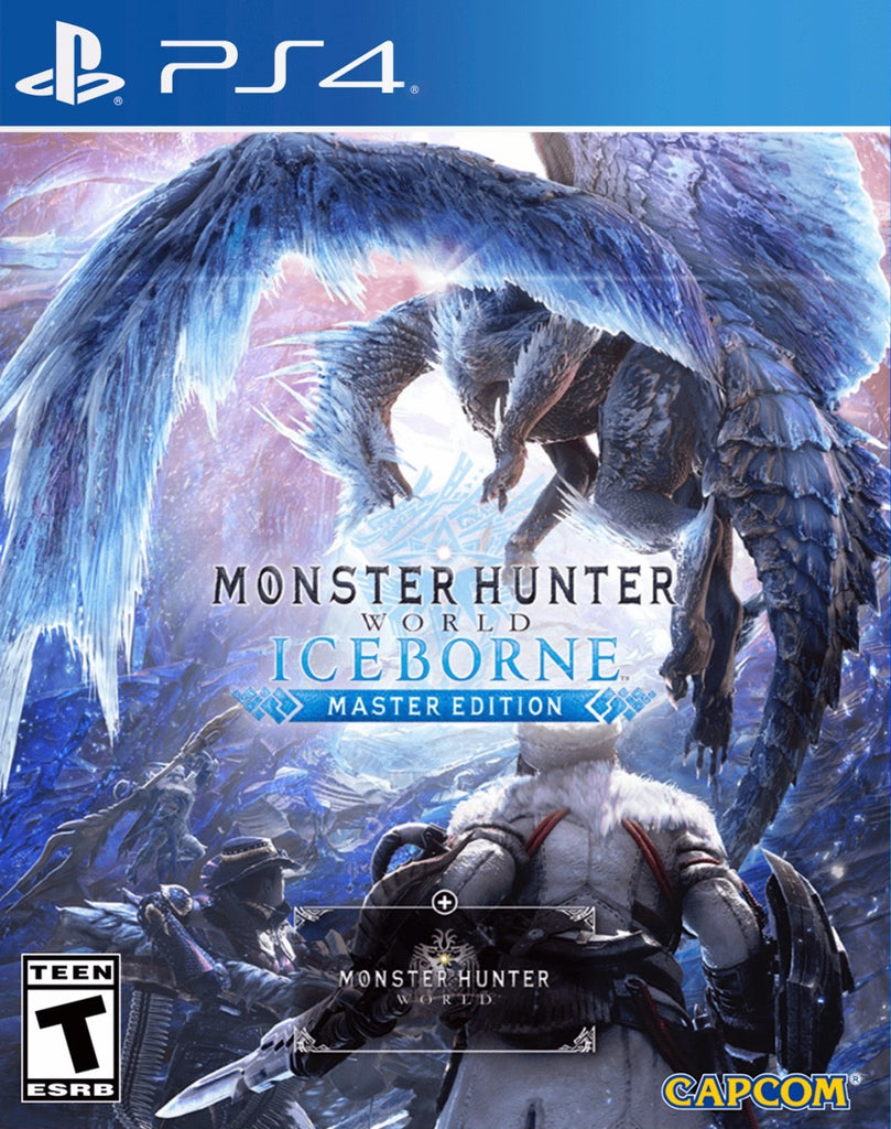 PS4 Monster Hunter World: Iceborne Master Edition