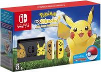 Nintendo Switch Console Set Limited Edition - Pokemon: Let's Go, Pikachu!