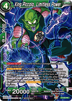 DBSCG P-153 PR King Piccolo, Limitless Power (Power Booster: World Martial Arts Tournament)