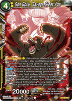 DBSCG P-156 PR Son Goku, Savage Great Ape (Power Booster: World Martial Arts Tournament)