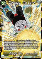 DBSCG P-157 PR Chiaotzu, the Loyal (Power Booster: World Martial Arts Tournament)
