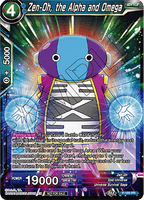 DBSCG P-189 PR Zen-Oh, the Alpha and Omega (Tournament Pack Vol.9)