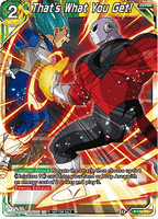 DBSCG P-195 PR That's What You Get! (Tournament Pack Vol.9)