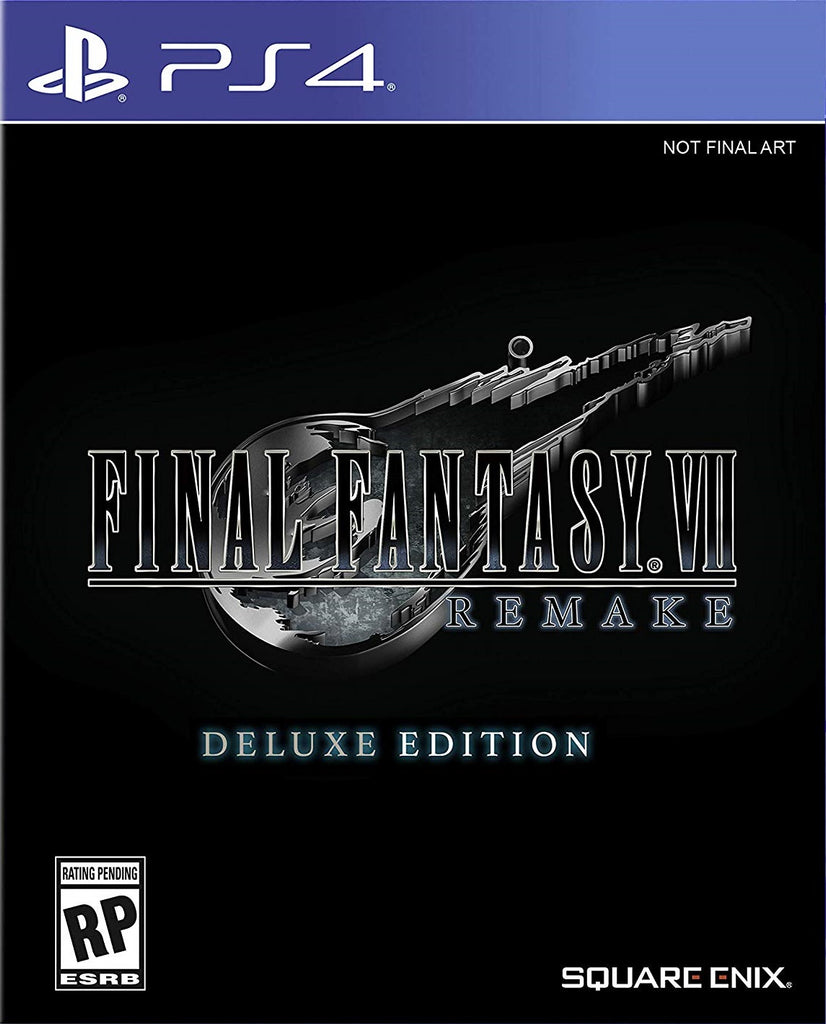 PS4 Final Fantasy VII Remake (Deluxe Edition)