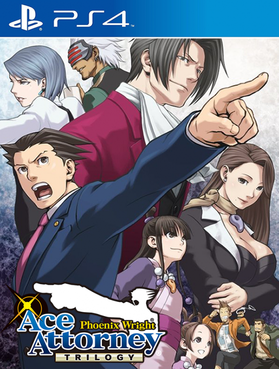 PS4 Phoenix Wright Ace Attorney Trilogy