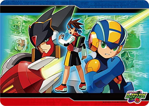 Rockman.EXE- Team Colonel Rubber Play Mat