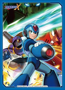 Rockman X Card Sleeves