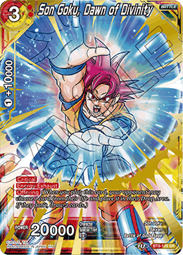 DBSCG-BT8-109 SR Son Goku, Dawn of Divinity
