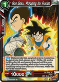 BT6-005 C Son Goku, Prepping for Fusion
