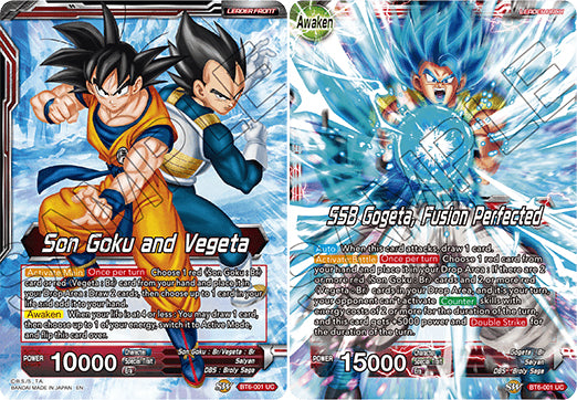 BT6-001 UC Son Goku and Vegeta // SSB Gogeta, Fusion Perfected
