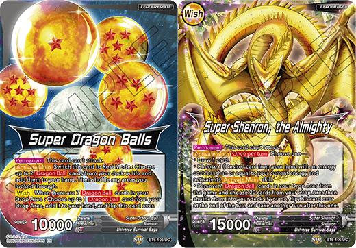 DBSCG-BT6-106 UC Super Dragon Balls // Super Shenron, the Almighty