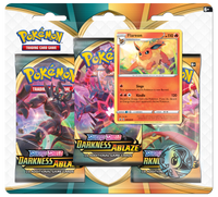 Pokémon TCG: Sword & Shield - Darkness Ablaze 3-Blister Set (Flareon)