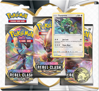 Pokémon TCG: Sword & Shield - Rebel Clash 3-Blister Set (Rayquaza)