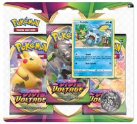 Pokémon TCG: Sword & Shield - Vivid Voltage 3-Blister Set (Sobble)