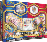 Pokémon TCG: True Steel - Zamazenta Premium Collection Box